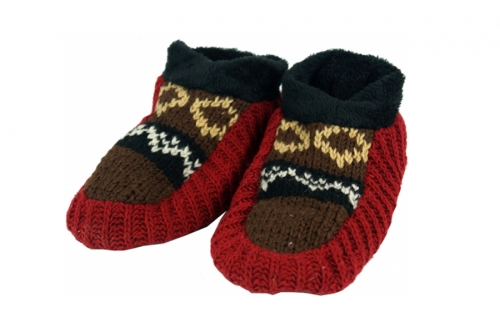 Woolen slippers