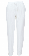 Slim pants. Pencil trousers, summer trousers, - white