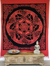 Wall hanging, wall cloth, mandala, bedspread Celtic - Design 27