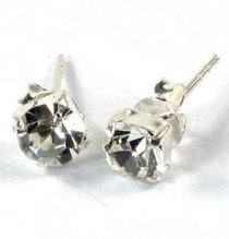 Stud Earrings Zirconia, small classic stud earrings in the colour..