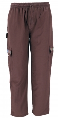 Yoga pants, Goa ethno pants, cargo pants - coffee