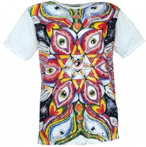 Mirror T-Shirt - Third eye/white