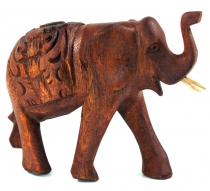 Carved decoration elephant in different sizes