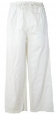 Yoga pants, Goa pants - white