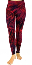 Batik Leggings - red