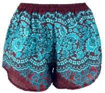 Lightweight Pantys Print Shorts - red