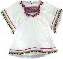 Poncho, girl`s blouse, Boho children`s tunic, children`s dress - ..