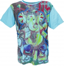 Mirror T-Shirt - Ganesh/light blue