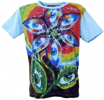 Mirror T-Shirt - Third eye/light blue