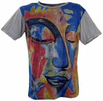 Mirror T-Shirt - Buddha/grey