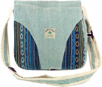 Hemp Shoulder Bag, Ethno Nepal Bag - Hemp Bag 2