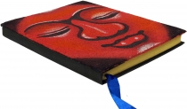 Notebook, Diary - Budha red