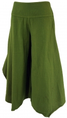 Comfortable palazzo trousers, Marlene trousers, trouser skirt - o..