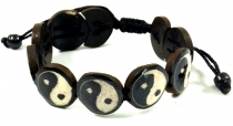 Yin Yang Bracelet - black model 7