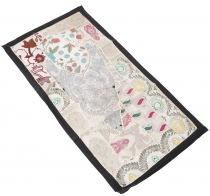 Oriental table runner, wall hanging, single piece 80*45 cm