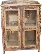 Glass cabinet, glass display case, kitchen cabinet - model 12