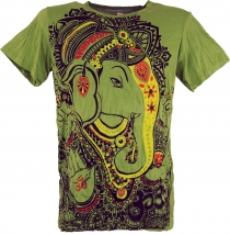 Baba T-Shirt - Ganesh/green