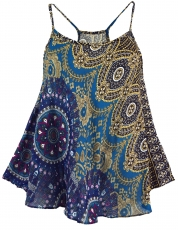 Boho carrier top, summer top, ladies top, beach top - petrol