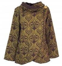 Cape Boho wrap jacket - cappuccino