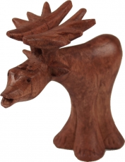 Carved small decorative figure - Fancy Elk 3
