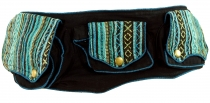 Ethno fanny pack, Festival fanny pack - turquoise