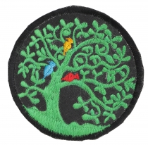 Patches Tree of life - green