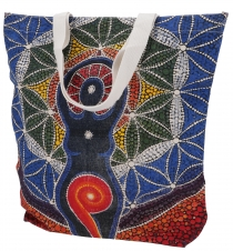 Mirror Shopper Bag, Shopping Bag, Beach Bag - Yogi