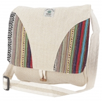 Hemp Shoulder Bag, Ethno Nepal Bag - Hemp Bag 4