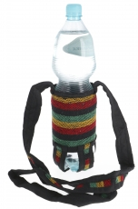 Water bottle bag, bottle holder Ethno - Model 4