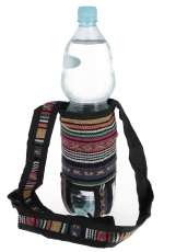 Water bottle bag, bottle holder Ethno - Model 8