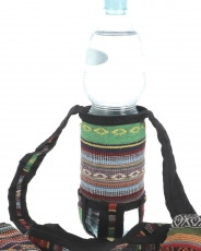 Water bottle bag, bottle holder Ethno - mix