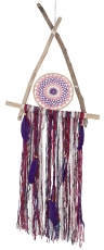 Dreamcatcher Boho - triangle/purple ,pink