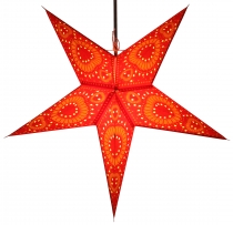 Foldable Advent Starlight Paper Star, Christmas Star Helios