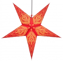 Foldable Advent Starlight Paper Star, Christmas Star Scorpius - r..