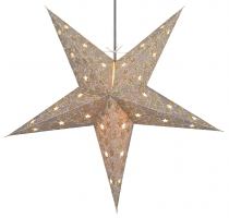 Foldable Advent Starlight Paper Star, Christmas Star Aida
