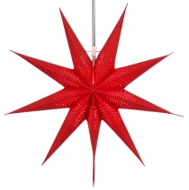 Foldable Advent Starlight Paper Star, Christmas Star Pegasus