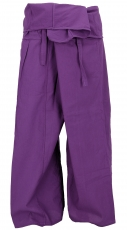 Thai cotton fishing trousers, wrap trousers, yoga trousers - M/L ..