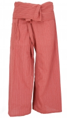 Thai fishing trousers made of striped woven fabric, wrap trousers..