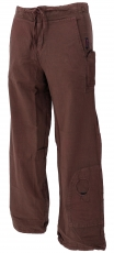 Goa pants, ethnic pants, outdoor pants - dark brown