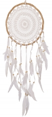 dreamcatcher - white 32 cm