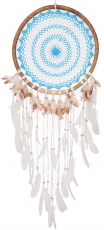 dreamcatcher - blue/white 44 cm