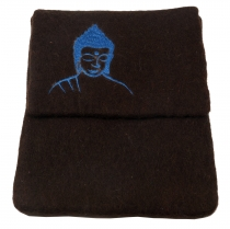 Felt iPad Cover Buddha brown