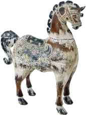 Carved horse, decorative object - Design 1