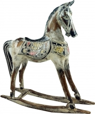 Carved rocking horse, decorative object - Design 5