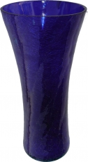 Glass vase `broken glass` in 5 colours - No.2