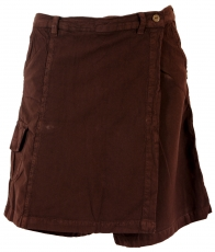Goa Shorts, trouser skirt - brown
