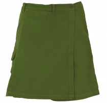Goa shorts, trouser skirt - olive