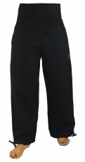 Goa Wellness Yoga Pants Hippie Pants - black