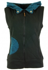 Goa vest Tree of Life - black