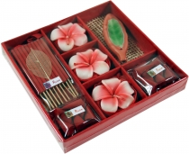 Smoking fragrance set from Thailand - Rose